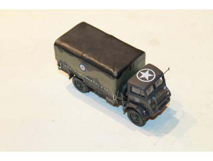 BEDFORD QLD 4X4 GENERAL SERVICE CARGO TRUCK 1944 CORGI 1/50°