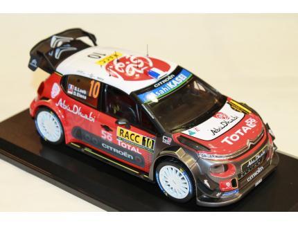 CITROEN C3 WRC SEBASTIEN LOEB RALLY CATALUNYA 2018 NOREV 1/18°