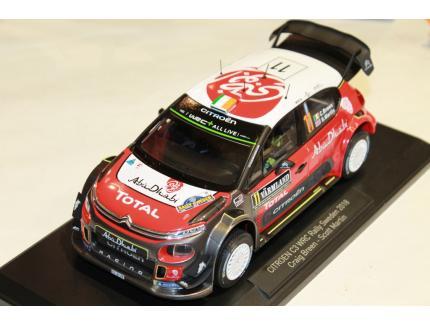 CITROEN C3 WRC RALLY CRAIG BREEN SWEDEN 2018 NOREV 1/18°