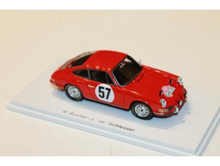 PORSCHE 911S N°57 RALLY MONTE CARLO 1966 SPARK 1/43°