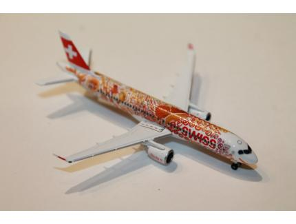 AIRBUS A220-300 SWISS INTERNATIONAL AIRLINES HERPA 1/500°