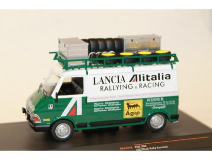 FIAT 242 ALITALIA RALLY SERVICE 1975 IXO 1/18°