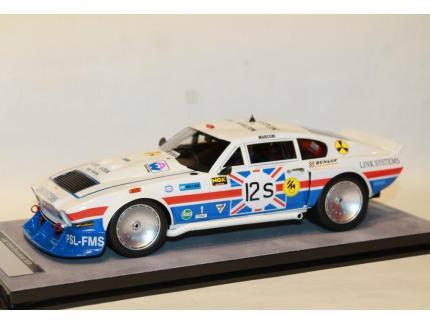 ASTON MARTIN AM V8 SILVERSTONE 6H N°12S 1979 TECNOMODEL 1/18°