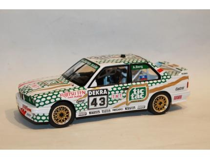 BMW E30 M3 N°43 DTM CHAMPIONSHIP 1991 SOLIDO 1/18°