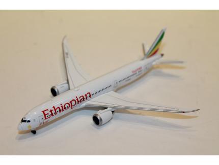 BOEING 787-9 DREAMLINER ETHIOPIAN AIRLINES HERPA 1/500°