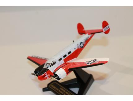 TWIN BEECH 51244 US NAVY NAS MIRAMAR OXFORD 1/72°