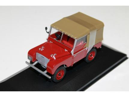 LAND ROVER SERIES 1 80 ROUGE VANGUARDS 1/43°