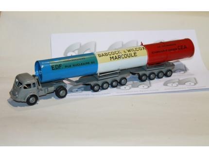 RENAULT 120 CV TRANSPORT EDF MARCOULE CIJ