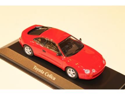 TOYOTA CELICA ROUGE 1994 MAXICHAMPS 1/43°
