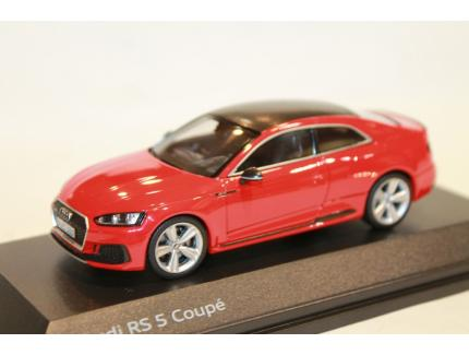 AUDI RS 5 COUPE ROUGE 2018 SPARK 1/43°