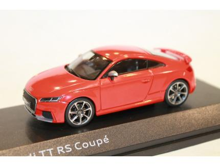 AUDI TT RS COUPE ROUGE 2018 ISCALE 1/43°