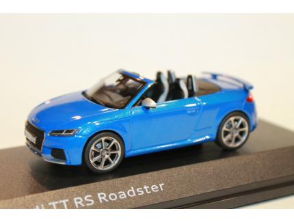 AUDI TT RS ROADSTER BLEUE 2018 ISCALE 1/43°