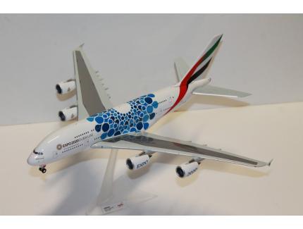 "AIRBUS A380-200 ""EXPO2020 DUBAI"" HERPA 1/200°"