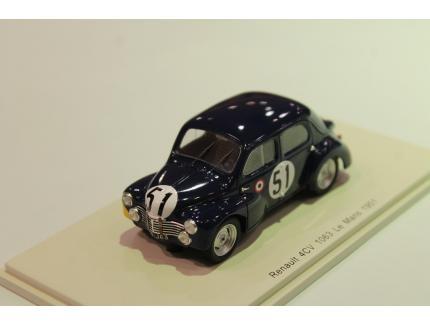 Renault 4CV 1063 N°51 LM1951 Spark 1/43°