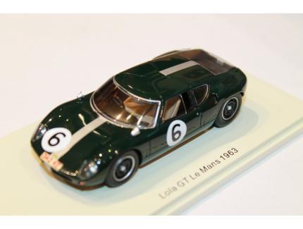 LOLA GT N°6 LE MANS 1963 SPARK 1/43°