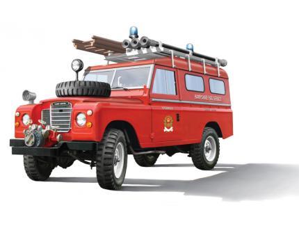 LAND ROVER 109 FIRE TRUCK  ITALERI 1/24°