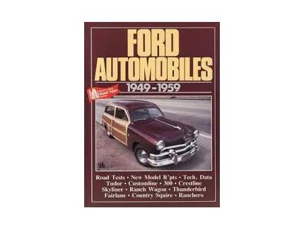 FORD AUTOMOBILES 1949-1959