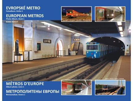 METROS D'EUROPE. Album photo vol.1