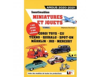 Inestimables Miniatures et jouets Argus 2020-2021