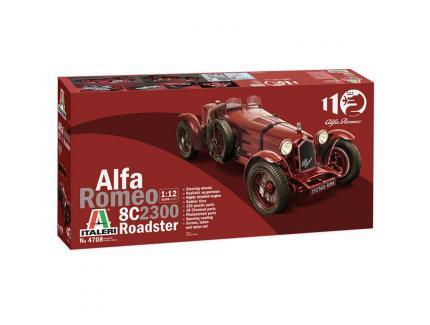 ALFA ROMEO 8C 2300 ROADSTER 1933 ITALERI 1/12°