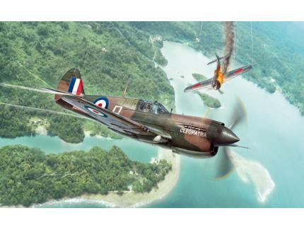 P-40 E/K KITTYHAWK ITALERI 1/48°
