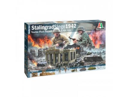 LE SIEGE DE STALINGRAD 1942 ITALERI 1/72°