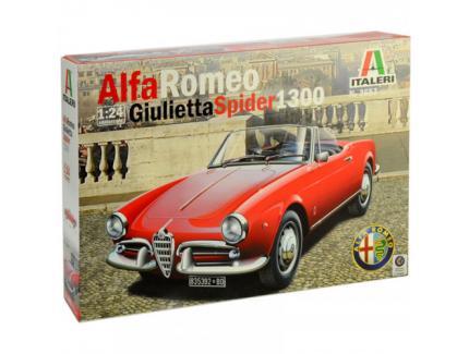 ALFA ROMEO GIULIETTA SPIDER 1300 ITALERI 1/24°