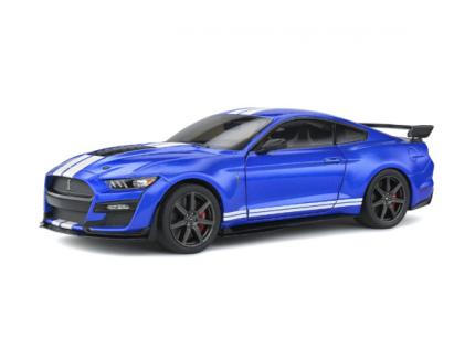 FORD MUSTANG SHELBY GT500 2020 SOLIDO BLEU 1/18°