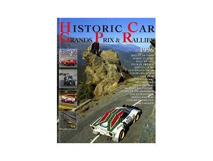 HISTORIC CAR GRANDS PRIX ET RALLIES 1996