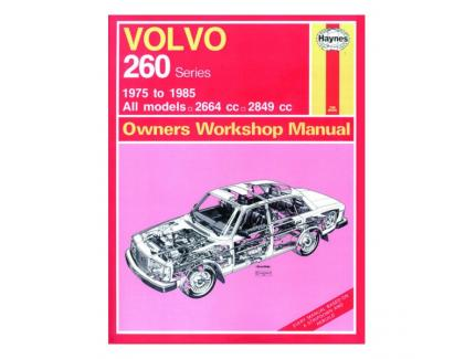 VOLVO 260 SERIES 1975-1985 OWNERS WORKSHOP MANUAL