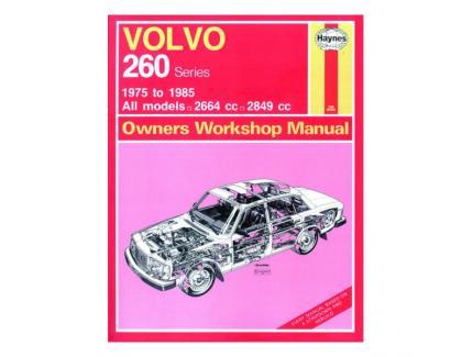 VOLVO 260 SERIES 1975-1985 OWNERS WORKSHOP MANUAL