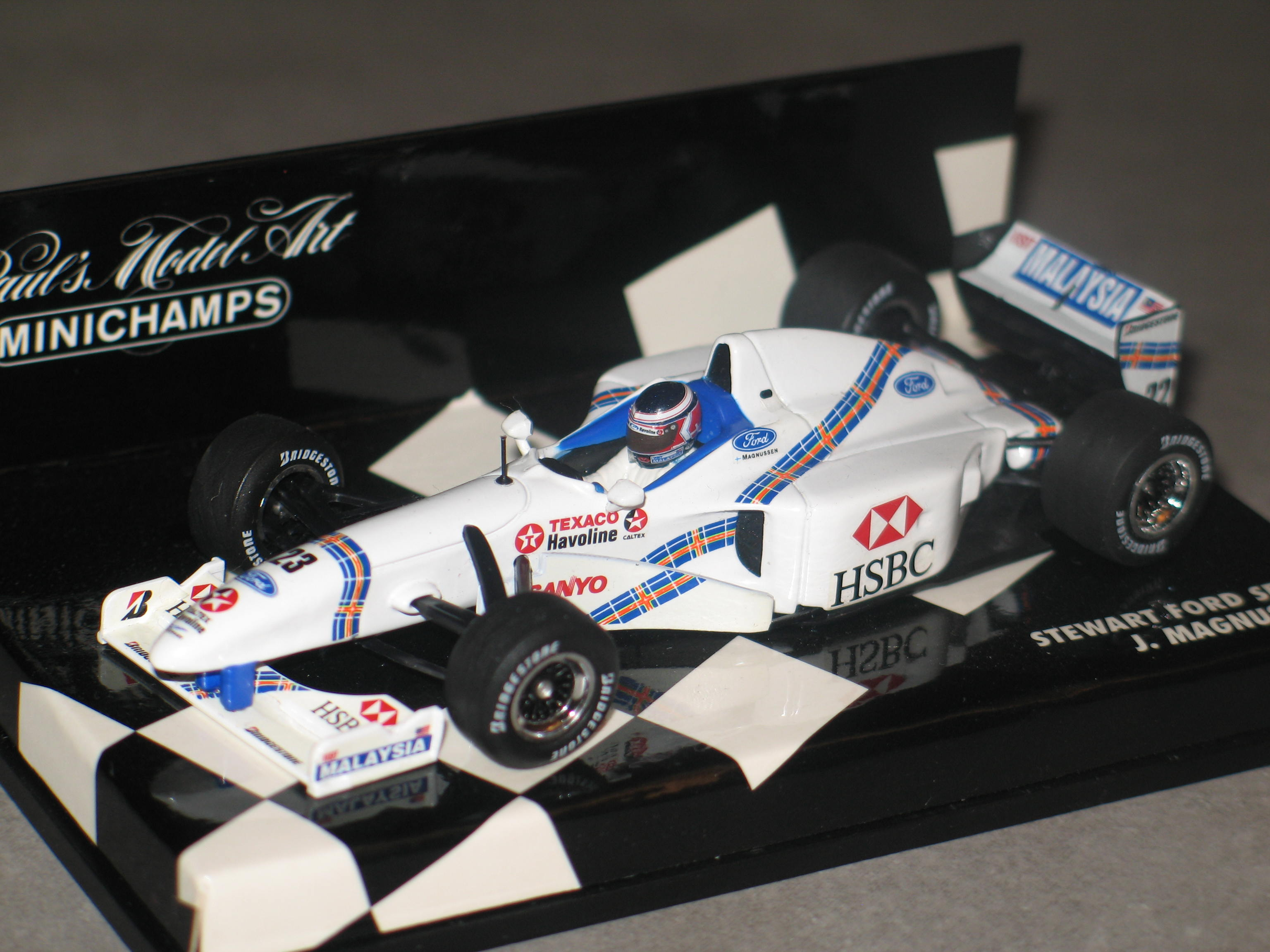 STEWART FORD SF1 N°23 1997 MINICHAMPS 1/43°