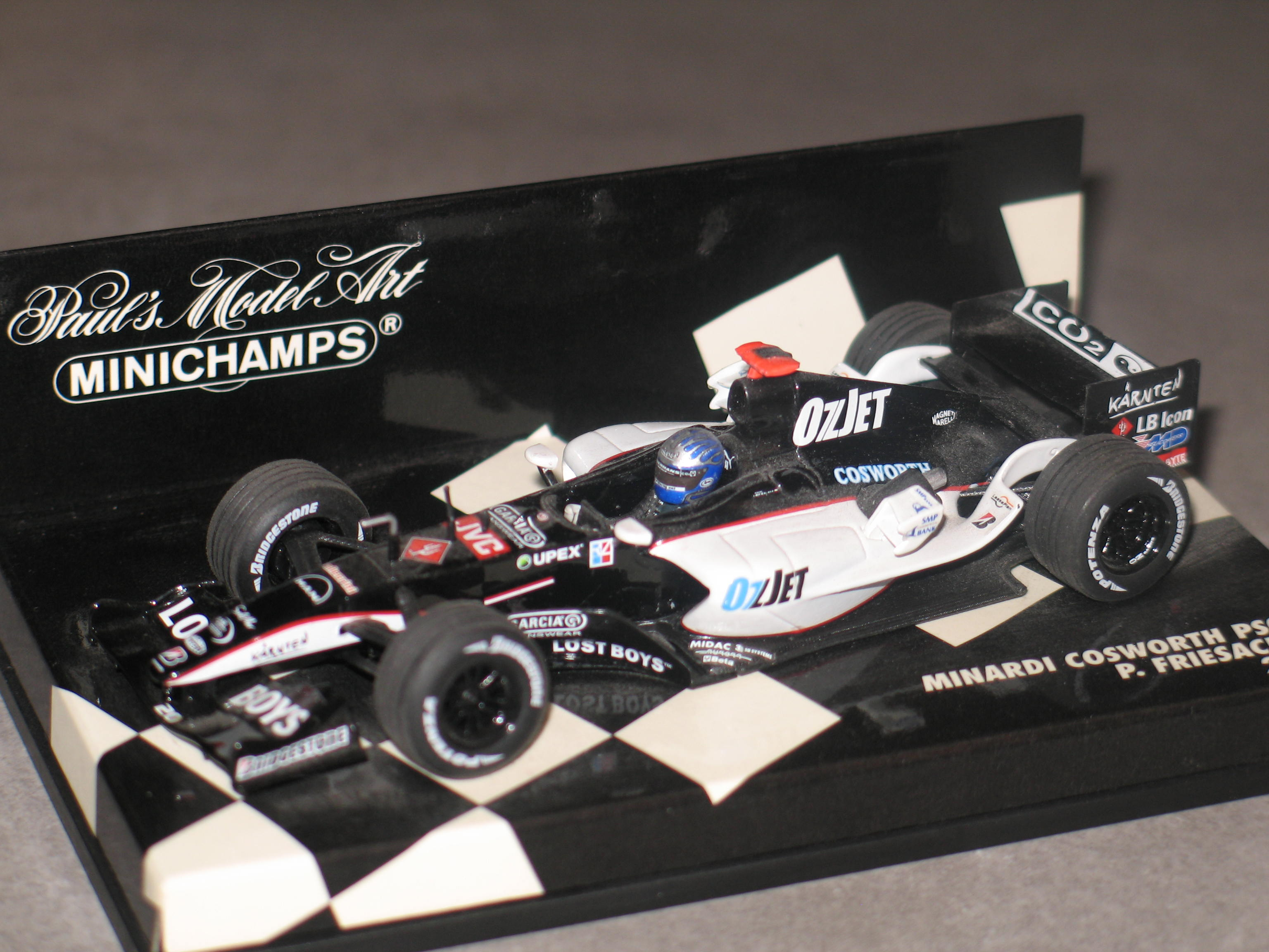 MINARDI COSWORTH PS05 2005 MINICHAMPS 1/43°