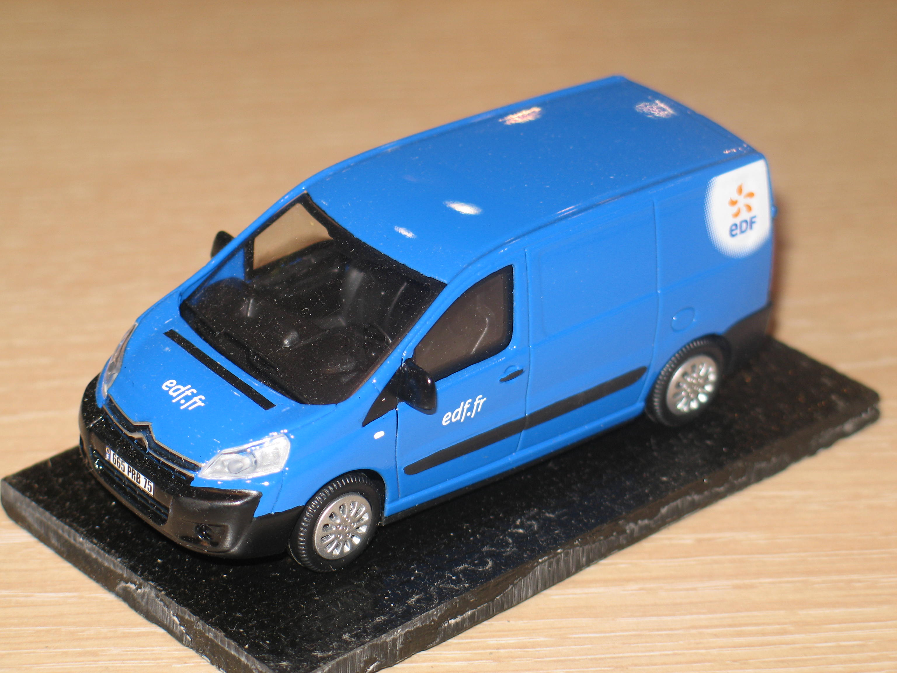 CITROEN JUMPY 2 EDF .FR 2010 LABEL43 1/43°