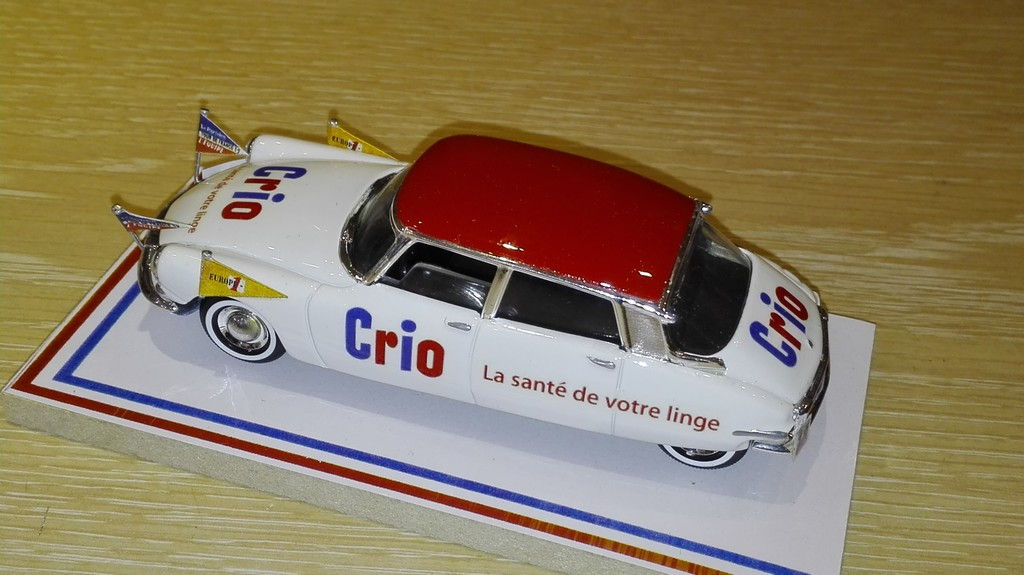 CITROEN DS19 CRIO TDF 1959 LABEL43