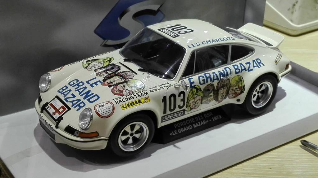 Porsche 911 Rsr Grand Bazar Tour Auto 1973 Solido 118