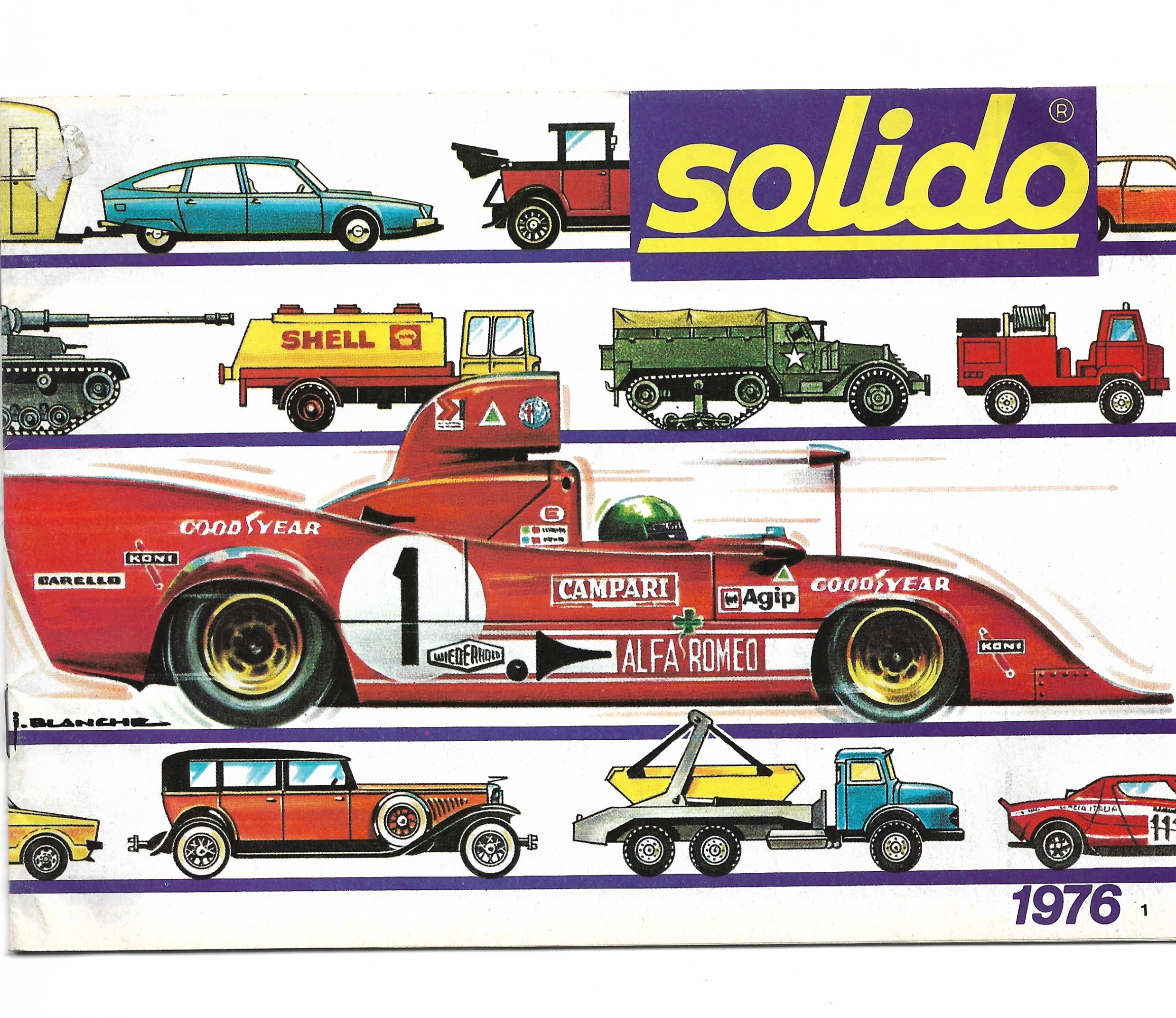 CATALOGUE SOLIDO FRANCE 1976