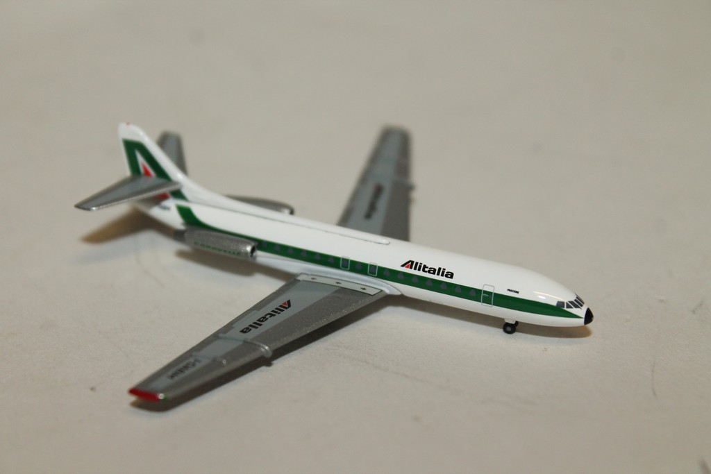 SUD AVIATION CARAVELLE ALITALIA HERPA 1/500°