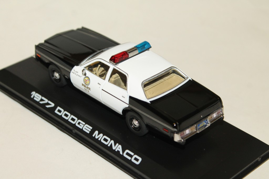 Dodge Police Terminator 143° Greenlight 1977 Monaco ynOvNw8m0