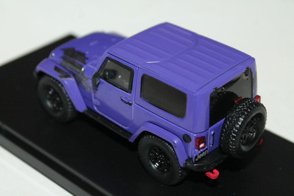 "JEEP WRANGLER WINTER EDITION VIOLET ""ALL TERRAIN"" 2017 GREENLIGHT 1/43°"