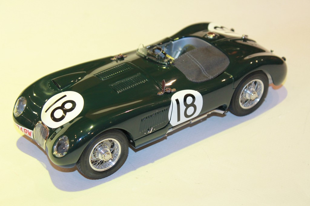 JAGUAR TYPE C N°18 WINNER LM 1953 CMC 1/18°