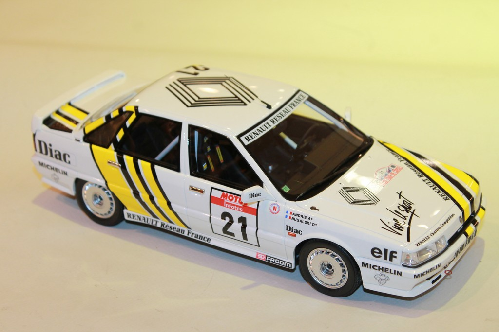 RENAULT 21 TURBO GR. NTC 1988 OTTOMOBILE 1/18°
