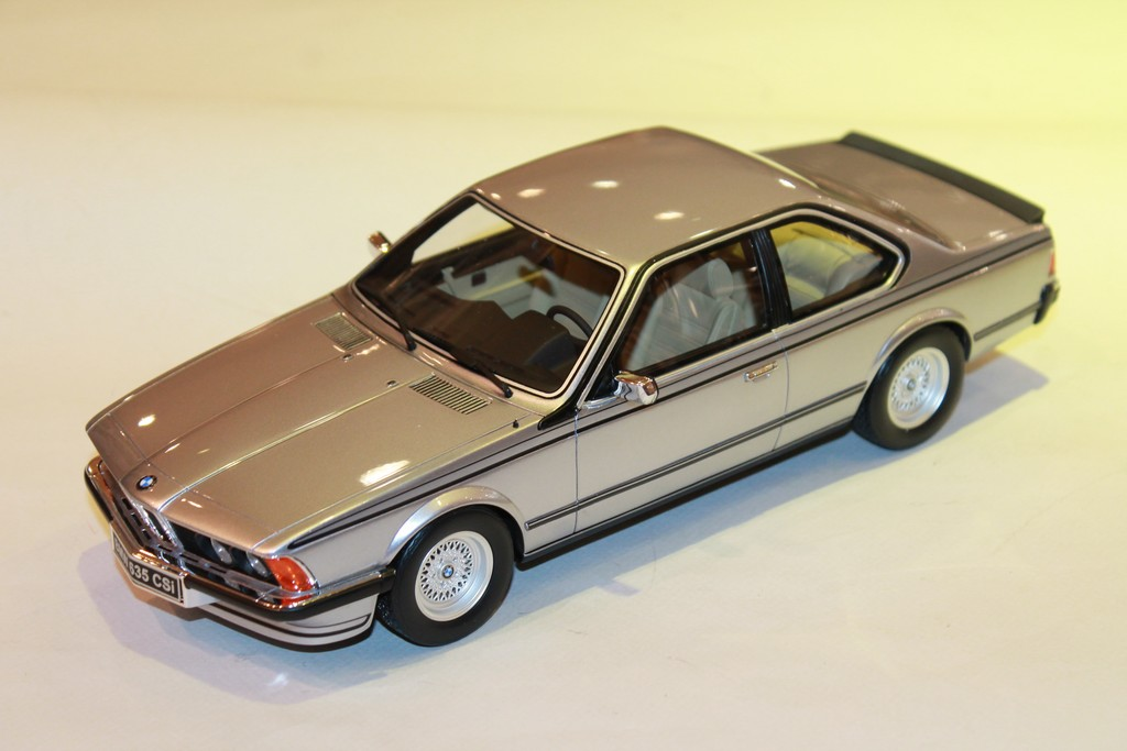 BMW E24 635 CSI GRIS OTTOMOBILE 1/18°