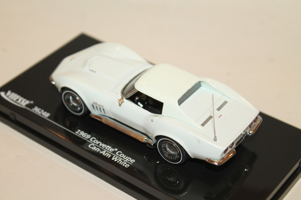 Vitesse 36248 1:43 Chevrolet Corvette Coupe 1969 Can-Am White