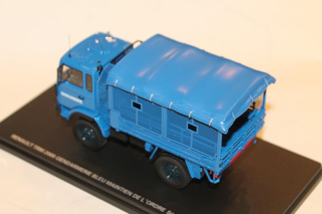 Renault Trm 2000 MB Transport von Truppen Gendarmerie Blau 1//43 Perfex 717