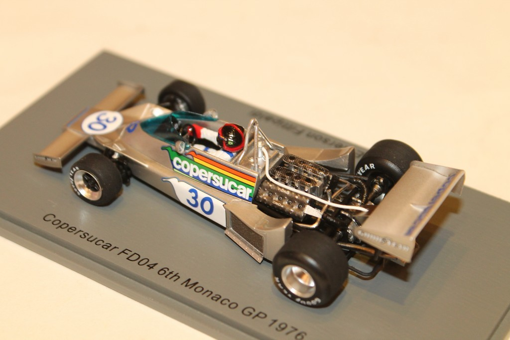 1//43 Spark S3938 Copersucar FD04 6th Monaco GP 1976 Emerson Fittipaldi