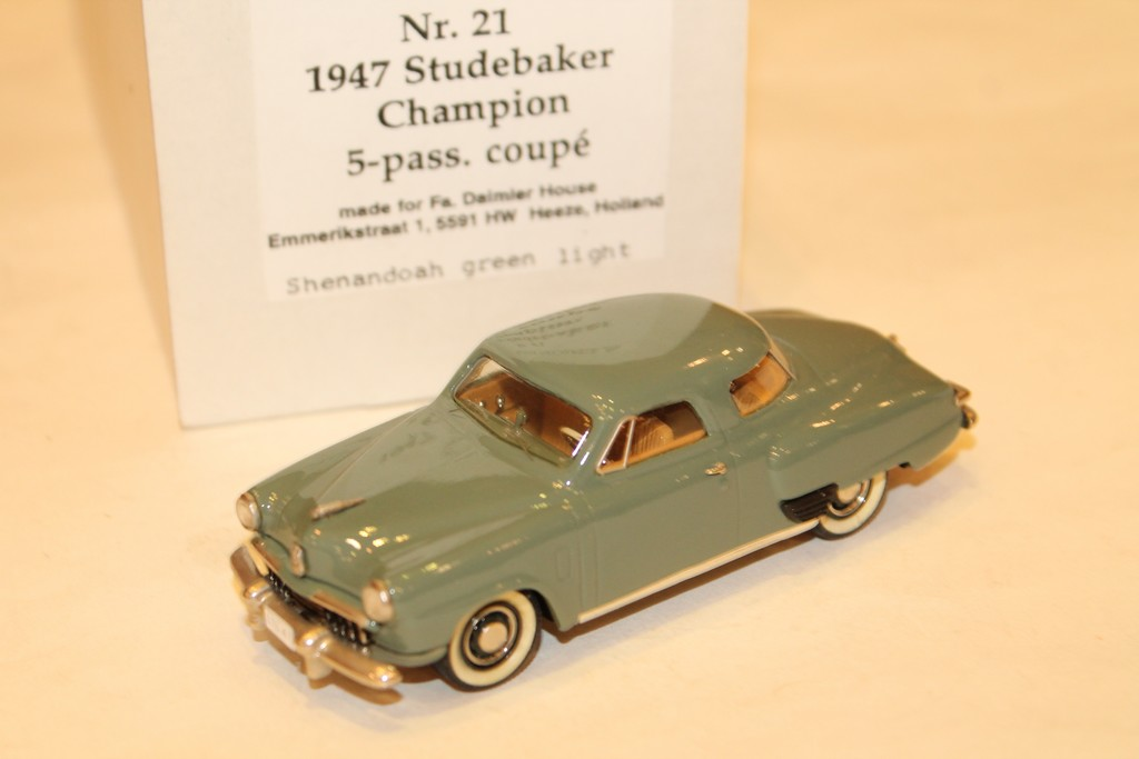STUDEBAKER CHAMPION 5-PASS. COUPE 1947 MADISON MODELS 1/43°