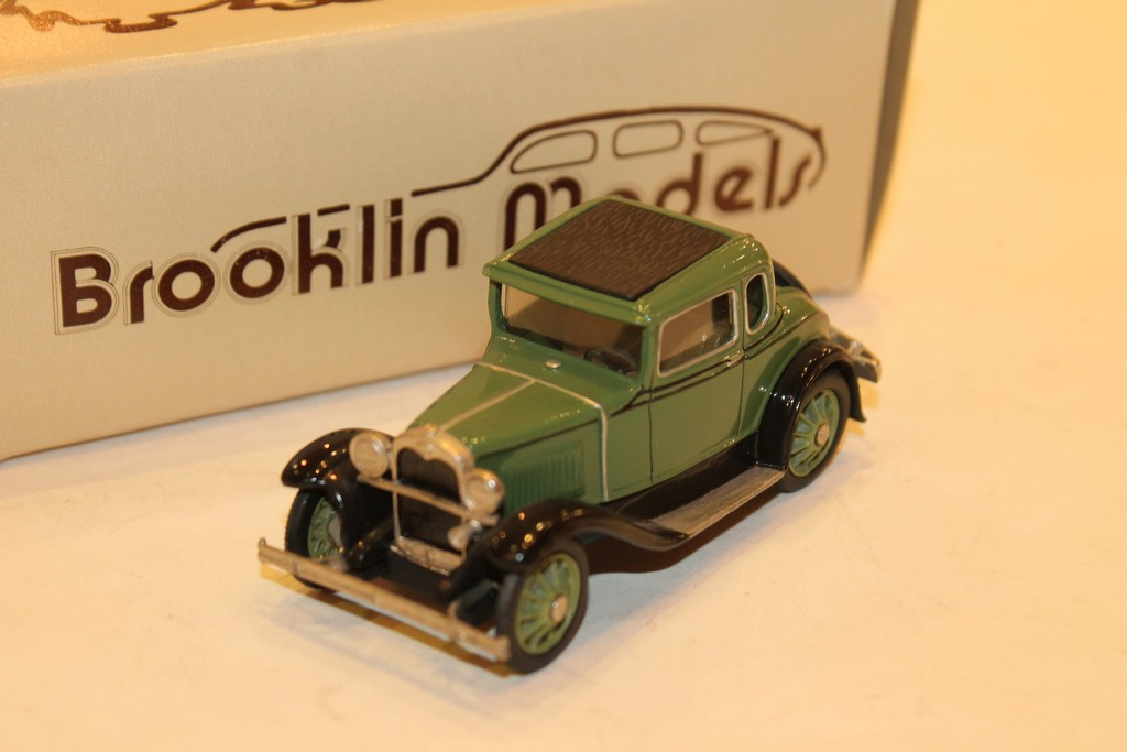 FORD MODEL A COUPE VERT 1930 BROOKLIN 1/43°