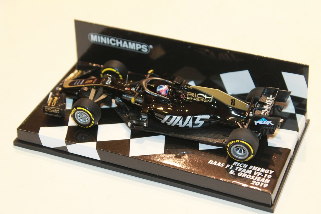 HAAS F1 TEAM GROSJEAN 2019 MINICHAMPS 1/43°