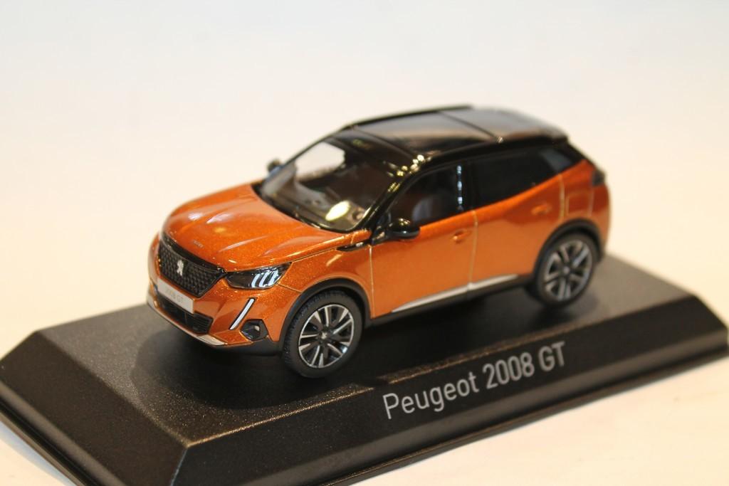 Peugeot 2008 GT 2020 Orange  1//43 NOREV 472860